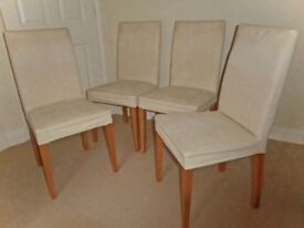 4 Habitat Dining Chairs
