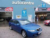 HONDA ACCORD 2.2 I-CTDI SPORT 5d 140 BHP diesel (blue) 2004