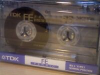 TDK FE 90 CASSETTE TAPES IN PRISTINE CONDITION. *THIS WEEK ONLY. LIMITED UNBEATABLE OFFER!*
