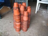 """Plant Pots / 3 """" Approx 400 - Used"""
