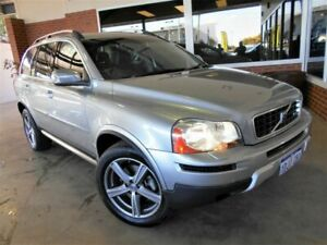 2010 Volvo XC90 MY10 D5 R-Design (AWD) Silver 6 Speed Automatic Geartronic Wagon St James Victoria Park Area Preview