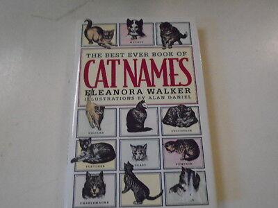 Best Ever Cat Names by Eleanor Walker (1995, (Best Cat Names Ever)