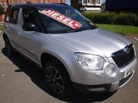 63 SKODA YETI ADVENTURE TDI CR 5 DOOR DIESEL HATCH SPECIAL EDITION SAT NAV
