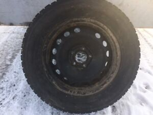 4 WINTER TIRES IN GOOD CONDITION
