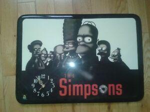 Horloge The Simpsons