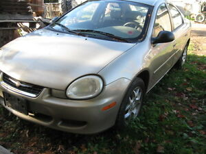 2002 Chrysler Neon Sedan