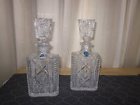 Vintage Waterford Crystal Decanters