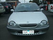 1999 Toyota Corolla AE112R CS-X 4 Speed Automatic Liftback Frankston Frankston Area Preview