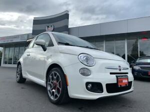 2013 Fiat 500 SPORT AUTOMATIC LEATHER LOADED ONLY 75KM