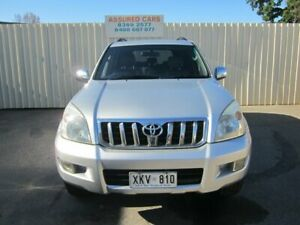 2005 Toyota Landcruiser Prado GRJ120R Grande (4x4) Silver Ash 5 Speed Automatic Wagon Windsor Gardens Port Adelaide Area Preview
