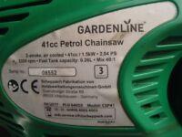 """Petrol Chainsaw 16"""", 41cc."""