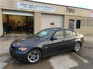 2008 BMW 3 Series 328xi-AWD-LEATHER-SUNROOF-FULLY LOADED-ALLOYS
