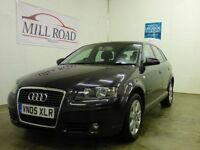 AUDI A3 1.9 TDI SE 5d 103 BHP ABSOLUTELY MINT (grey) 2005