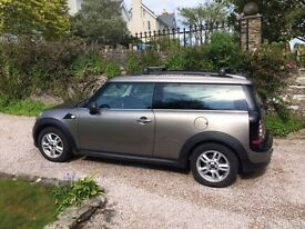 Silver Mini Clubman, excellent condition, full service history, 10 months MOT, recently serviced