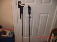 Eurohike, Anti Shock, adjustable, hiking poles.