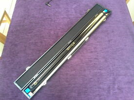 Snooker/Pool Cue, BCE Jimmy White, 2-piece, w/ carry case