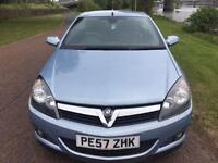2007 57 VAUXHALL ASTRA 1.8 TWIN TOP DESIGN 3D 140 BHP