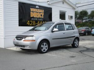 2006 Chevrolet Aveo 5 HATCHBACK LS 5 SPEED 1.6 L