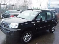2004 NISSAN XTRAIL IN BLACK BREAKING FOR PARTS