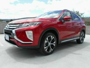 2018 Mitsubishi Eclipse Cross YA MY18 LS 2WD Red 8 Speed Constant Variable Wagon North Hobart Hobart City Preview