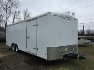 2016 Haulmark 8.5x24 Enclosed Trailer
