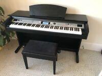 Thomann DP85 Digital Piano, stool and headphones
