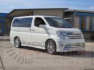 2005 Nissan Elgrand E51 Highway Star White Automatic Wagon Bayswater Knox Area Preview