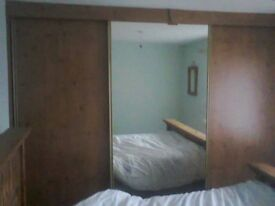 Built-in 'Slide Robe' with Full Size mirror. **REDUCED FOR QUICK SALE**