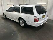 2003 Ford Falcon BA Futura White 4 Speed Auto Seq Sportshift Wagon Beresfield Newcastle Area Preview