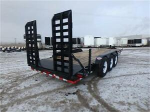 -*- 21,000 lbs. GVWR -*- Equipment Haulers by Canada Trailers