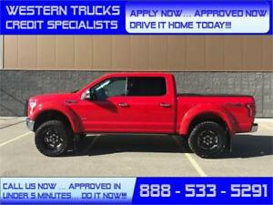 2017 Ford F-150 Lariat FX4 4X4~ LOADED ~ $0 Down 5 Min Approval