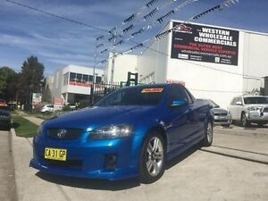 2009 Holden Commodore VE MY09.5 SV6 Blue 5 Speed Automatic Utility St Marys Penrith Area Preview