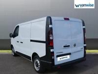 2014 Vauxhall Vivaro 2900 1.6CDTI 115PS H1 Van Diesel white Manual