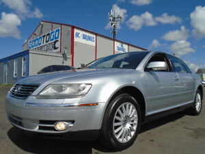 2005 Volkswagen Phaeton V8 LUXURY PKG-LEATHER-SUNROOF-NAVI-AWD