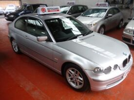BMW 3 SERIES 325TI (silver) 2002