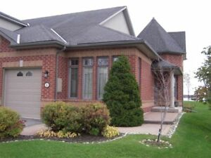 Executive condo town house bungalow overlooking Bay of Quinte.