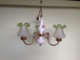 Electric hanging ceiling light