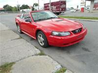 FORD MUSTANG DECAPOTABLE 2002 *VISA*MASTER*CARD**ACCEPTÉ