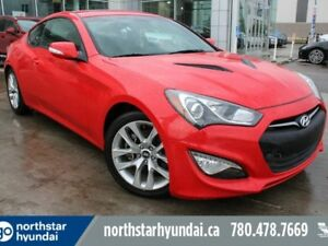 2016 Hyundai Genesis Coupe 3.8 PREM/V6/NAV/LEATHER/SUNROOF