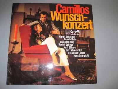 Vinyl LP - Camillos Wunschkonzert, Eurodisc 78003 IU im Zustand VG