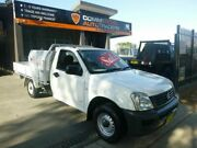 2005 Holden Rodeo RA MY05 DX 4x2 White 5 Speed Manual Cab Chassis Merrylands Parramatta Area Preview
