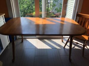 Double leaf Dinning room table