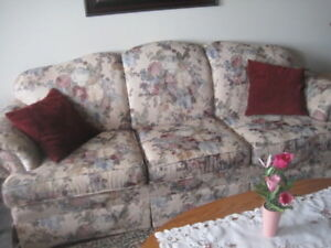 Chesterfield and chair in immaculate condition
