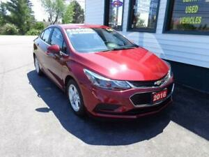 2016 Chevrolet Cruze LT for only $151 bi-weekly all in!