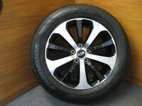 """Four 18"""" Alloy wheels and Hankook Ventus Prime tyres."""