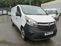 Vauxhall Vivaro 2900 1.6Cdti 115Ps LWB H1 Van DIESEL MANUAL WHITE (2015)