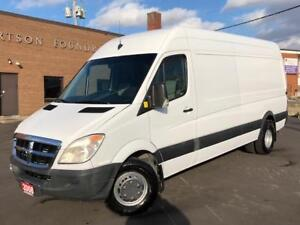 2008 Dodge Sprinter 3500 RAISED ROOF EXTENDED DUALLY