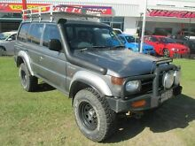 1999 Mitsubishi Pajero NL Escape Silver 4 Speed Automatic Wagon Kippa-ring Redcliffe Area Preview