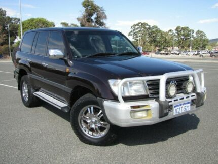 2004 Toyota Landcruiser UZJ100R GXL Burgundy 5 Speed Manual Wagon Maddington Gosnells Area Preview