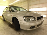 1999 Subaru Legacy B4 RSK twin turbo. JDM RHD Low KM!